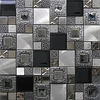 Мозаика Inter-Matex Frame silver 30x30