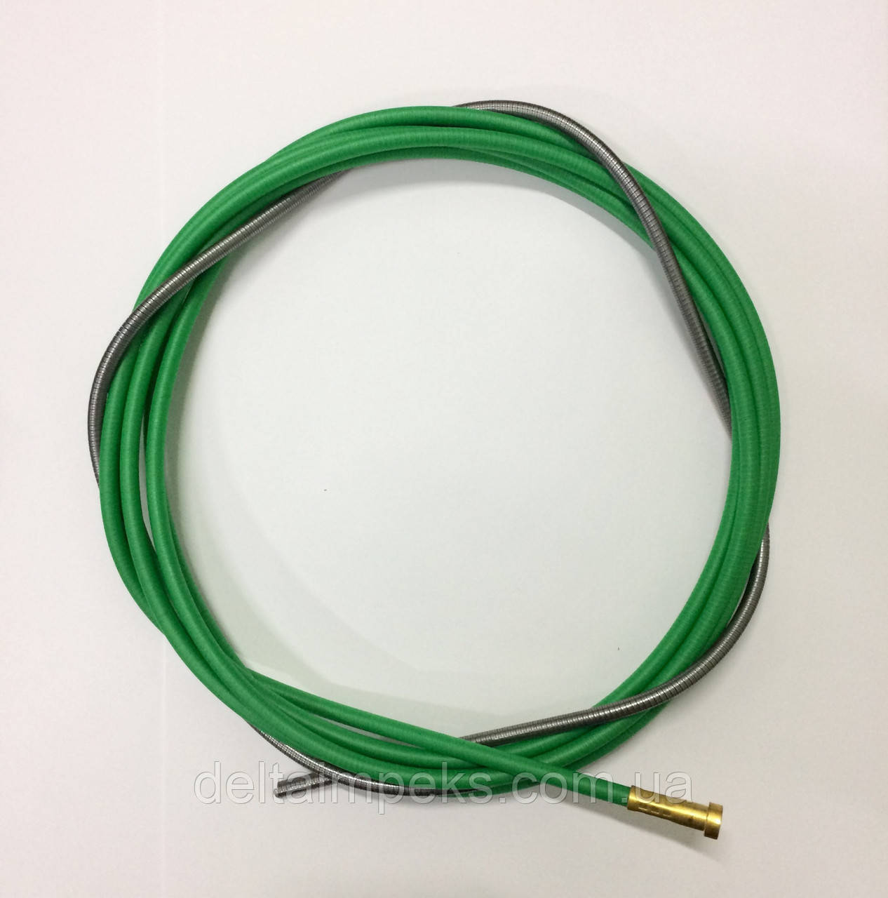 Спираль подающая зеленая 4м, боуден 3,0/5,0/440 Binzel