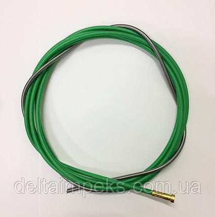 Спираль подающая зеленая 4м, боуден 3,0/5,0/440 Binzel, фото 2