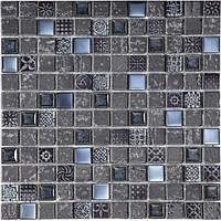 Мозаика Inter-Matex Imperium graphite 30x30