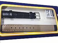 Ремешок  для часов JN 16мм черный, фото 3