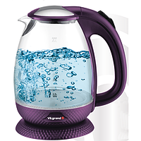 Чайник електричний стекло (1,7 л; 2 кВт) ViLgrand VL1172GK_purple