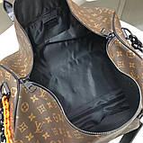 Дорожня сумка Луї Вітон Keepall 50, шкіряна репліка, фото 5