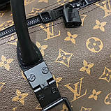 Дорожня сумка Луї Вітон Keepall 50, шкіряна репліка, фото 7