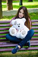 Плюшевый Мишка 50см. (Все Цвета)  Медведь игрушка Плюшевый медведь Мягкие мишки игрушки Ведмедик (Белый)