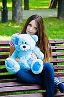 Плюшевый Мишка 50см. (Все Цвета)  Медведь игрушка Плюшевый медведь Мягкие мишки игрушки Ведмедик (Голубой)