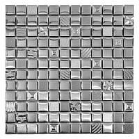 Мозаика Inter-Matex Kroma silver 30x30