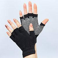 Перчатки для йоги и танцев без пальцев FI-8367