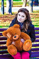 Плюшевый Мишка 50см. (Все Цвета)  Медведь игрушка Плюшевый медведь Мягкие мишки игрушки Ведмедик (Коричневый), фото 1