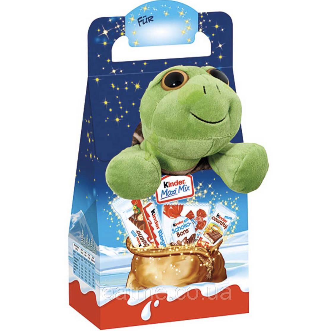 Kinder Maxi Mix Набор сладостей с игрушкой(черепашка)
