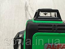 ✔️Лазерный уровень, нивелир AL-FA ALNL-3DG  | 12 лазерных линий, фото 3
