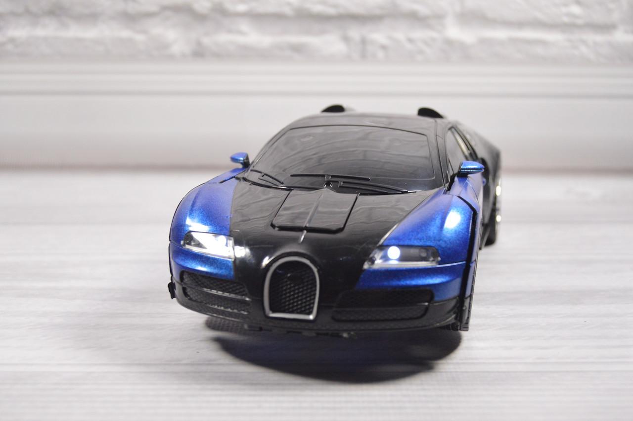 """Трансформер на радиоуправлении (32х12х9) """"Bugatti EFORMATION"""" Большая"""