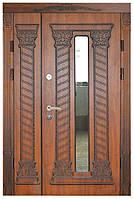 Двери входные металлические с зеркалом Термопласт™  Модель 31