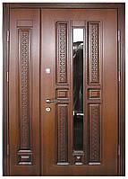 Двери металлические входные  двустворчатые Термопласт™ Модель 25