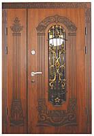 Полуторная металлическая дверь Термопласт Модель 15 с доставкой