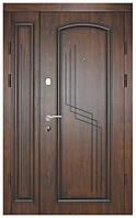 Полуторная металлическая дверь Термопласт™ Модель 52