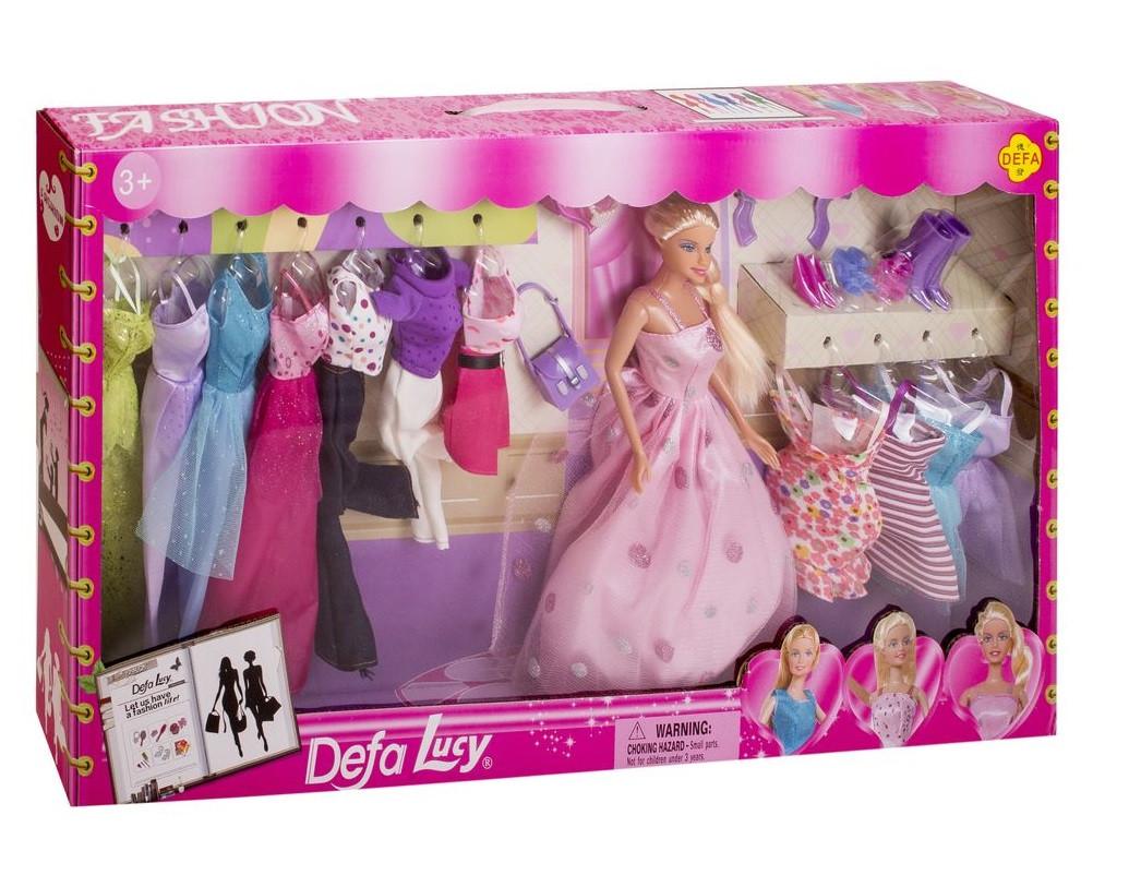 """Подарочный игровой набор для девочки """"Кукла с нарядами ..."""