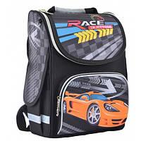 Рюкзак школьный каркасный Smart PG-11 Race injection, 34*26*14 554559, фото 1