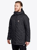 Зимняя мужская куртка UP Hood Blk черная