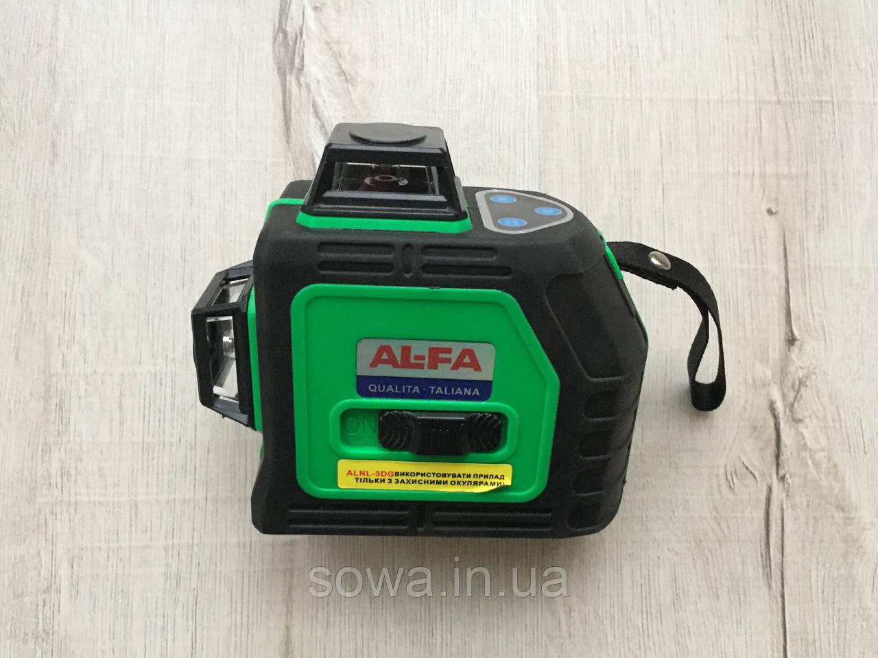 ✔️ Лазерный уровень, нивелир AL-FA_Альфа  ALNL-3DG