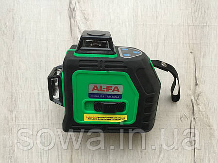 ✔️ Лазерный уровень, нивелир AL-FA_Альфа  ALNL-3DG, фото 2