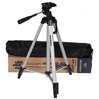 Штатив для телефона и фотоаппарата тринога 51см-134см 330А