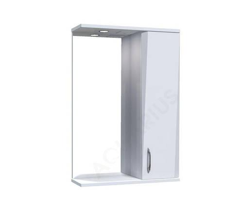 Зеркало Аквариус Жако со шкафчиком и подсветкой 50 см, фото 2