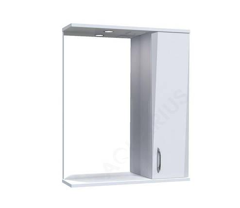 Зеркало Аквариус Жако со шкафчиком и подсветкой 60 см, фото 2