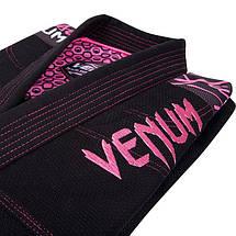 Жіноче кімоно для джиу-джитсу Venum Challenger 2.0 Women BJJ GI Black, фото 2