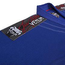 Кимоно для джиу-джитсу Venum Challenger 2.0 BJJ GI Blue, фото 3
