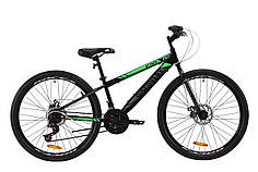 "Велосипед ST 26"" Discovery ATTACK DD 2020 (черно-зеленый с серым)"