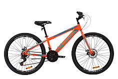 "Велосипед ST 26"" Discovery ATTACK DD 2020 (оранжево-бирюзовый)"