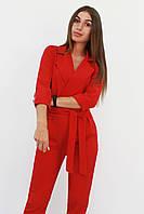 S, M, L / Стильний жіночий комбінезон Noris, червоний