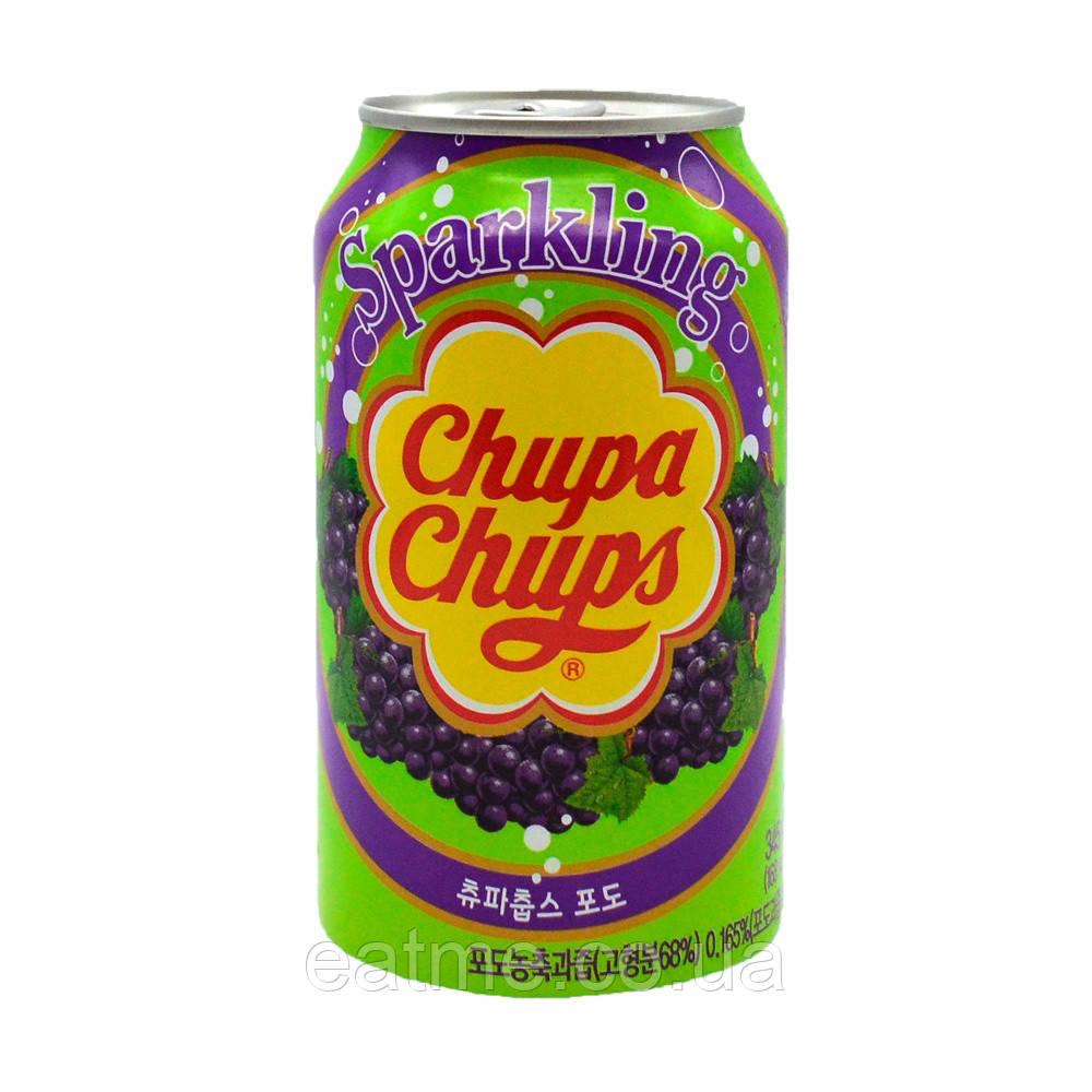 Chupa Chups Sparkling Газированный напиток со вкусом винограда