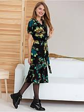 Женское платье длина миди