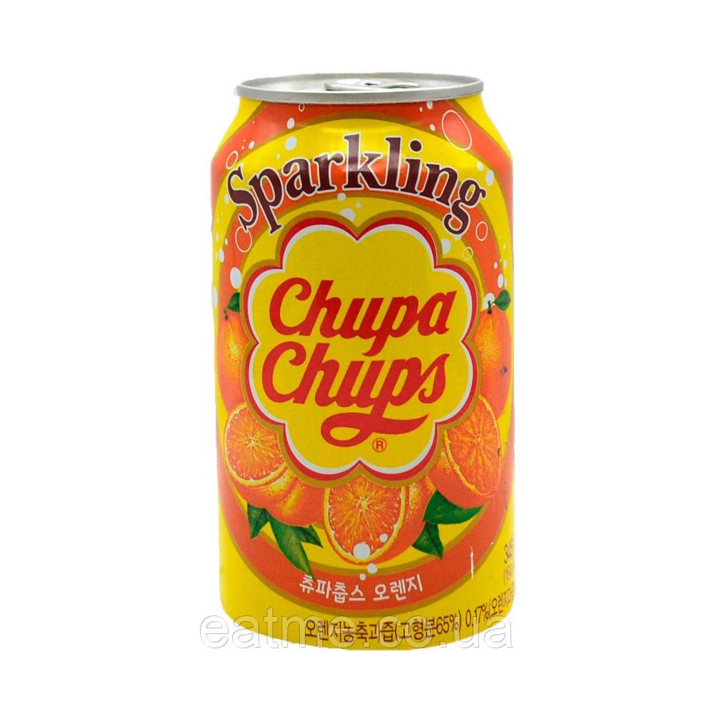 Chupa Chups Sparkling Газированный напиток со вкусом апельсина