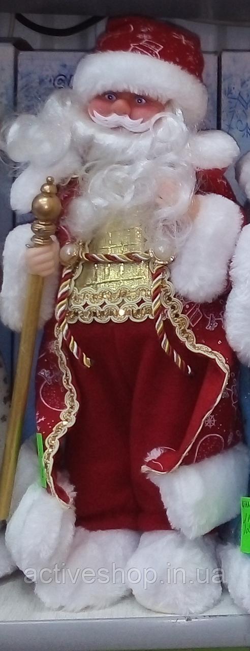 Дед Мороз музыкальный 40 см.