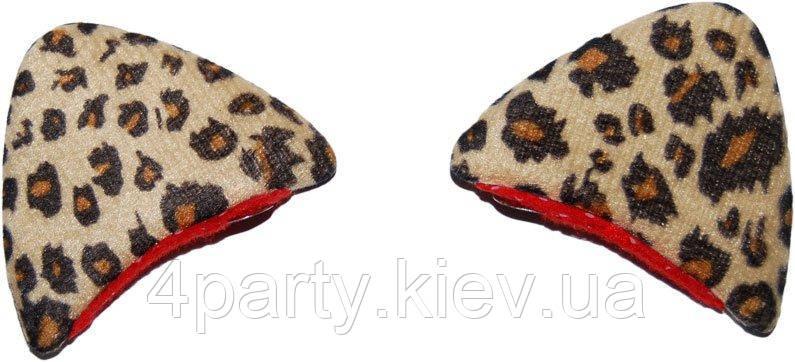 Заколки ушки Леопарда 250216-372