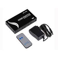 Сплиттер-переключатель HDMI 2x4 Mt-Viki MT-1204 (1080p/2k/4k 165MHz v.1.4)
