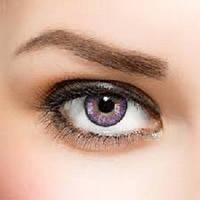 Цветные контактные линзы Freshlook Colorblends аметист без диоптрий