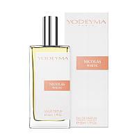 Yodeyma Nicolas White парфюмированная вода 50 мл, фото 1