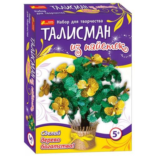 Набор для творчества Талисман из пайеток Дерево богатства Ранок
