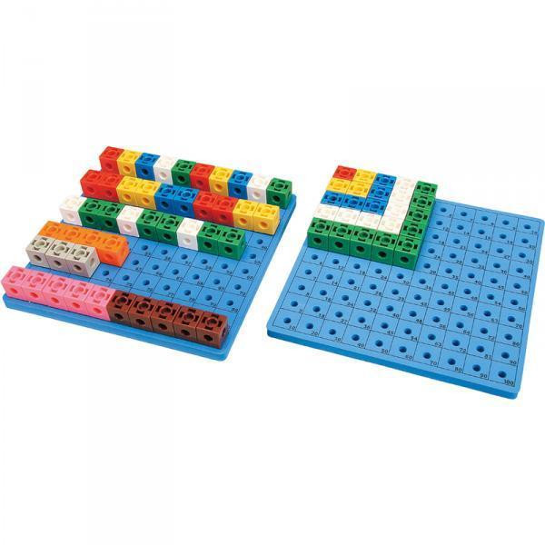 Набір для навчання Gigo Дошка для набору «Цікаві кубики» 1017C (1163)