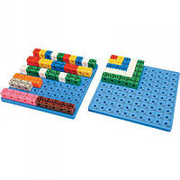 Набор для обучения Gigo Доска для набора «Занимательные кубики» 1017C (1163), фото 1