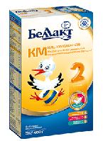 Суха кисломолочна суміш для дитячого харчування «Беллакт КМ-2»