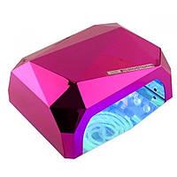 Гибридная лампа для маникюра Diamond CCFL+LED 36 Вт