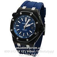 Стильные мужские часы Audemars Piguet Royal Oak Offshore blue