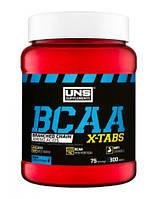 Уценка (Сроки годности до EXP 16\10\19) UNS BCAA X-Tabs 300 tabs