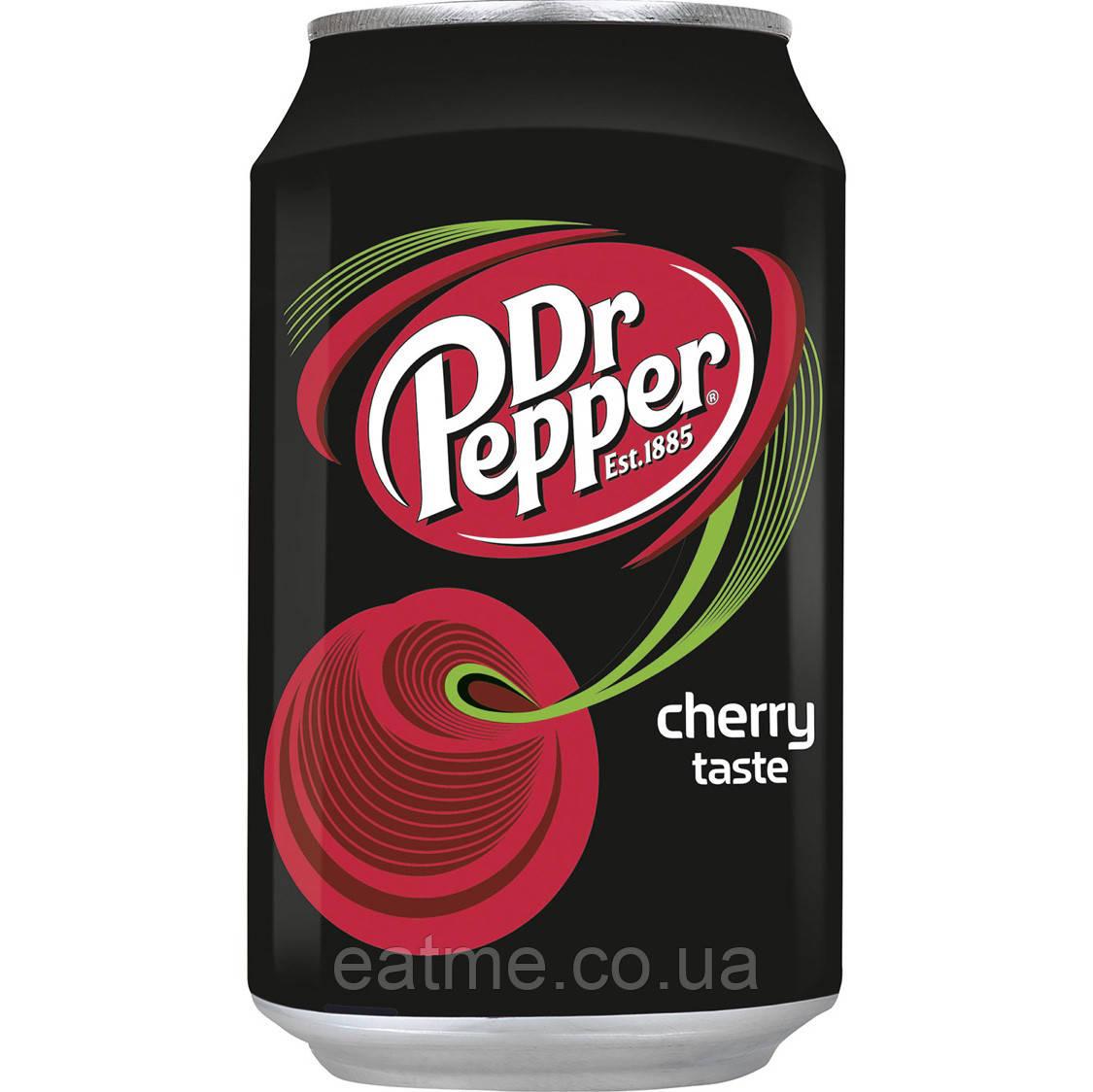 Dr Pepper Cherry Газированный напиток со вкусом вишни