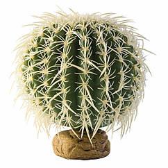 Декорация для террариума Hagen Exo Terra  Barrel Cactus растение на подставке (PT2980)